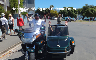 motorbike and sidecar tours